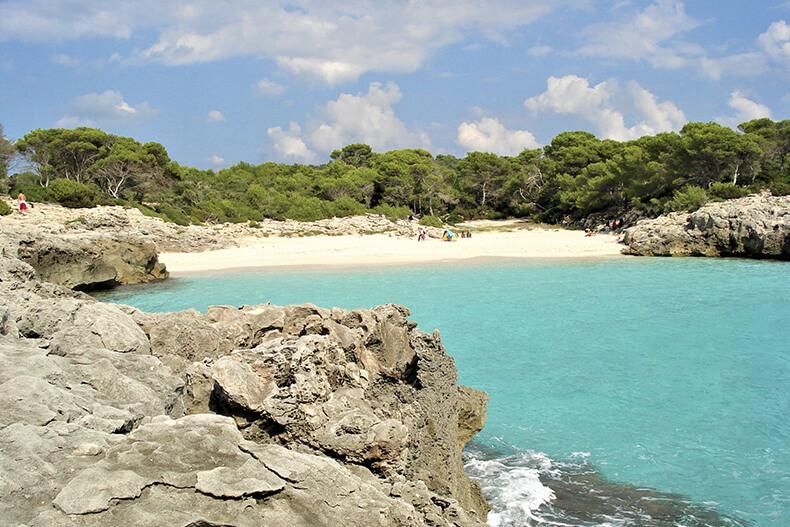 Cala'n Turqueta y Es Talaier - Addaia Charters Menorca