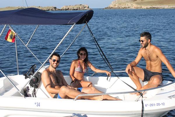 Allquiler Embarcacion Kate Astec 400 - Addaia