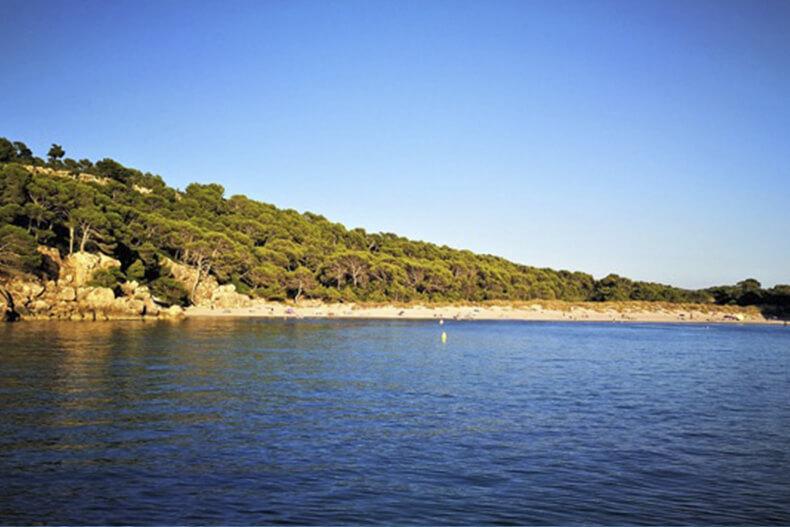 Cala Val Algaiarens - Addaia Charters Menorca