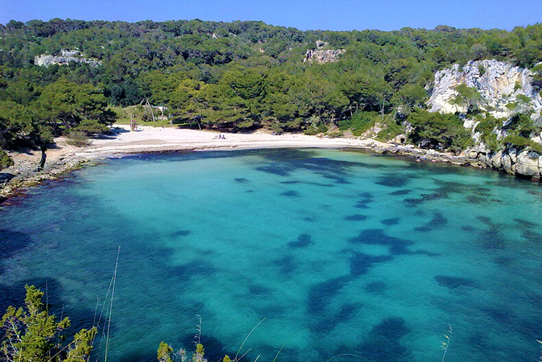 Cala Macarella y Macarelleta - Addaia Charters Menorca