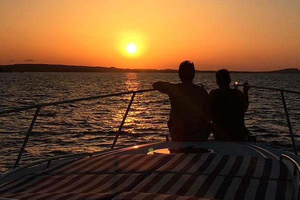Experiencia puesta de sol - Addaia Charters Menorca