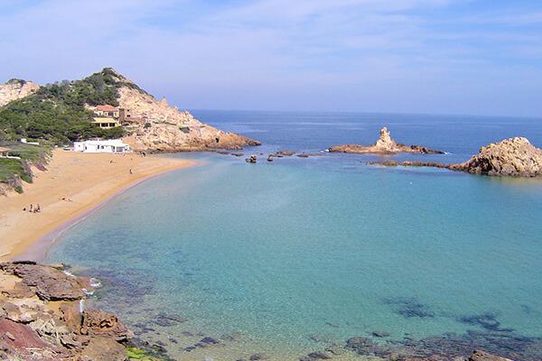 Calas Costa Norte - Addaia Charters Menorca