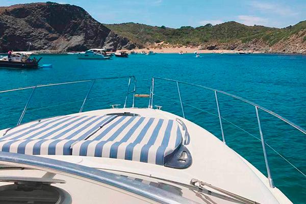 Alquiler de embarcaciones Addaia Charters Menorca